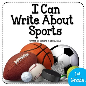 Sports Themed Writing Pack for Firsties