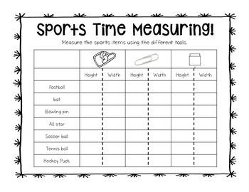Sports Time Measuring Workshop Station
