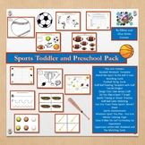Sports Toddler and Preschool Pack
