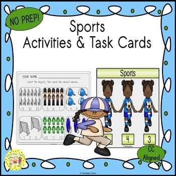 Sports Worksheets Activities Games Printables and More