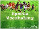 Sports Vocabulary