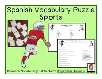 Sports Vocabulary Magic Squares (2 Puzzles!)