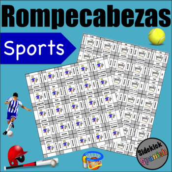 Sports Vocabulary Puzzles