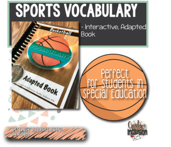 Sports Vocabulary for Special Education: Basketball Terms