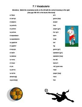 Sports Vocabulary practice