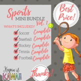Sports! Volume 1 Clip Art (Growing Bundle)
