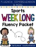 Sports Week Long Fluency Packet - Week 3 of April Packet