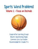 Sports Word Problems Vol. 1