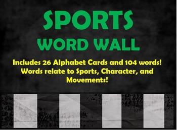 Sports Word Wall