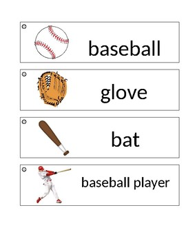 Sports Word Wall Cards