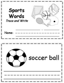 Sports Words Trace & Write Book