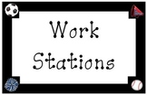 Sports Work Station Clip Chart