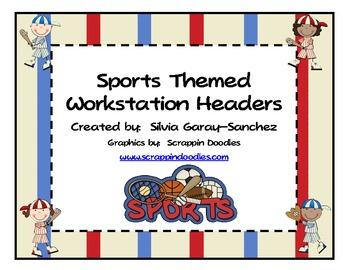 Sports Workstation Headers