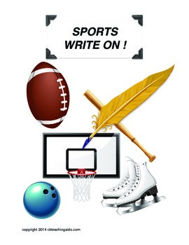 Analytic Writing - Sports - Write On! Questions and Organizers