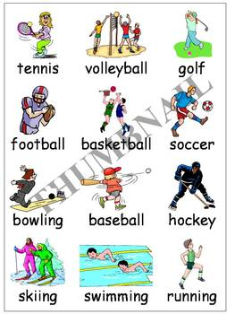 Sports Writing Folder