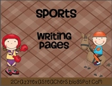 Sports Writing Packet