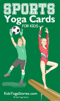 Sports Yoga Cards for Kids