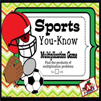 Sports You-Know Multiplication