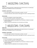 Sports and Entertainment Marketing: 7 Marketing Functions