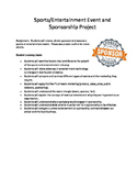 Sports and Entertainment Marketing Sponsorship Project