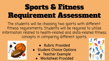Physical Education- Sports and Fitness Skills Requirements