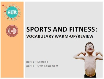 Sports & Fitness: Exercise and Gym Vocabulary Slideshow