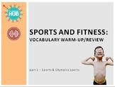 Sports & Fitness: Sports and Olympics Vocabulary Slideshow