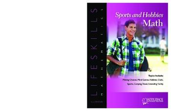 Sports and Hobbies Math (21st Century Lifeskills Mathematics)