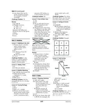 Sports and Hobbies Math: Hobbies-Dabbling in the Arts