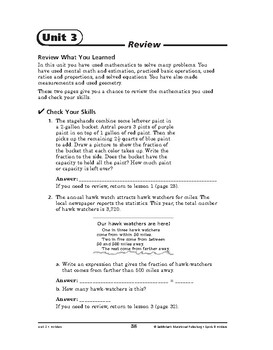 Sports and Hobbies Math: Hobbies-REVIEW