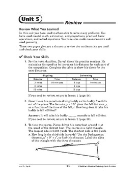 Sports and Hobbies Math: Sports-REVIEW