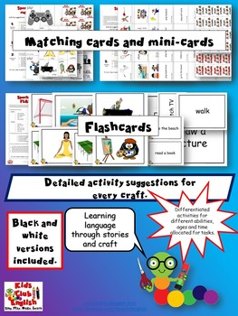 Sports and Leisure Activity Pack - Crafts, Sheets, & Games - Distance Learning