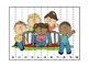 Sports and Outdoor Fun Themed Counting and ABC Puzzles