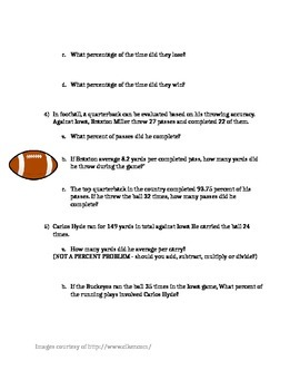 Sports and Percentages