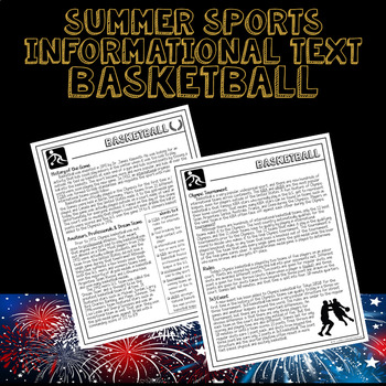 Sports at the Summer Olympics Informational Text - Basketball