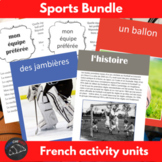 Sports bundle - activities for French learners