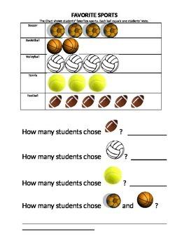 Sports data worksheet