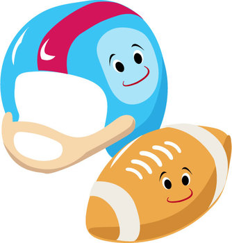 Sports for Kids Clipart, Sporting goods