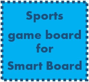 Sports Game board for Smartboard