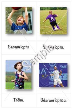 Sports in Croatian + flash cards