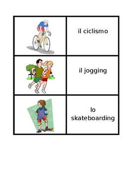 Sports in Italian Concentration games