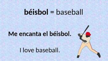 Sports in Spanish