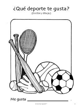 Sports in Spanish! (6 fun worksheets!)