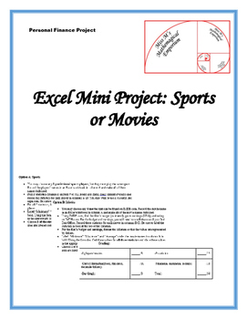 Sports or Movies Excel Mini Project