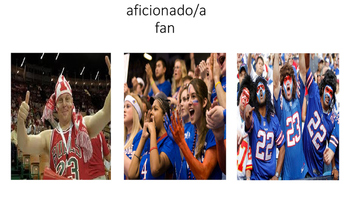 Sports terminology in Spanish