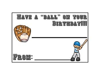 Sports-theme Birthday Pack!