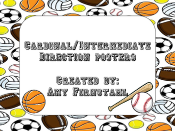 Sports-theme Direction Posters!