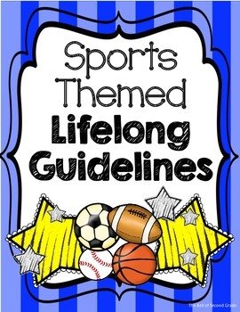 Sports-themed Lifelong Guidelines Bl.Y {Other colors available by request.}
