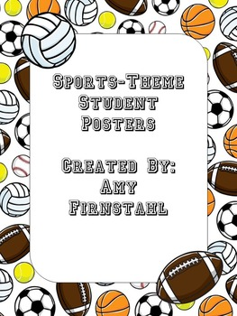Sports-theme Posters!