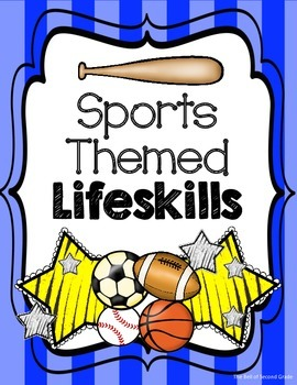 Sports-themed Lifeskills Bl.Y {Other colors available by request.}